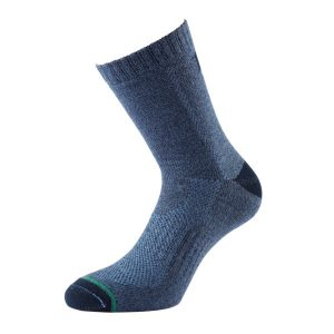 Fitness Mania - 1000 Mile All Terrain Womens Trail Running/Hiking Socks - Sapphire