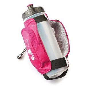 Fitness Mania - 1000 Mile UP Kielder Handheld Water Bottle - 600ml - Pink