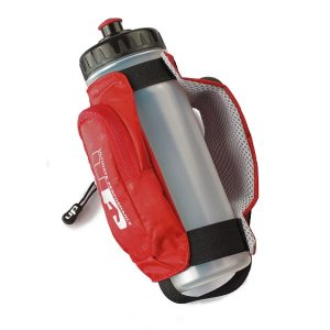 Fitness Mania - 1000 Mile UP Kielder Handheld Water Bottle - 600ml - Red