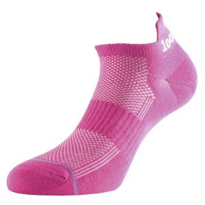 Fitness Mania - 1000 Mile Ultimate Tactel Trainer Womens Sports Socks - Pink