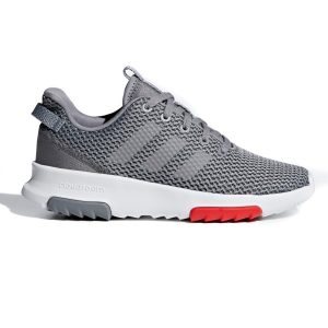 Fitness Mania - Adidas Cloudfoam Racer TR - Kids Boys Running Shoes - Grey/Footwear White