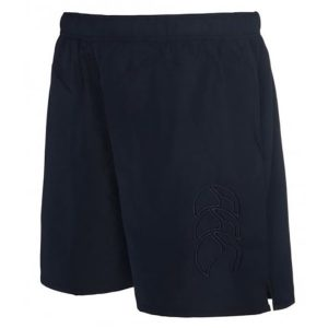 Fitness Mania - Canterbury Long Leg Tonal Tactic Kids Boys Training Shorts - Navy