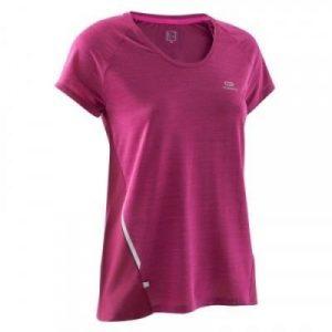 Fitness Mania - Womens Running T-Shirt - Run Light - Burgundy