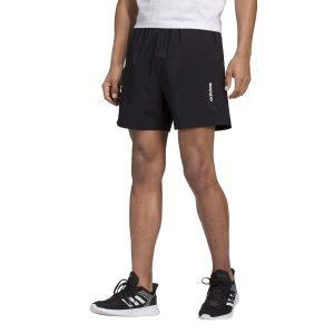 Fitness Mania - Adidas Essentials Plain Chelsea Mens Training Shorts - Black/White