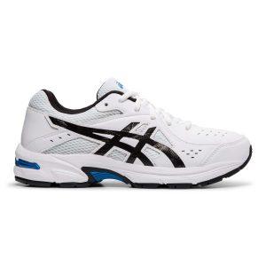 Fitness Mania - Asics Gel 195TR GS - Kids Boys Cross Training Shoes - White/Black