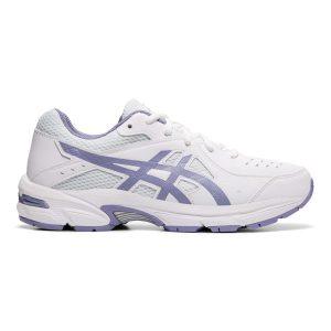 Fitness Mania - Asics Gel 195TR GS - Kids Girls Cross Training Shoes - White/Ash Rock