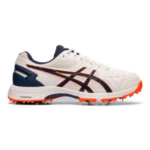 Fitness Mania - Asics Gel 300 Not Out - Mens Cricket Shoes - White/Blue Expanse