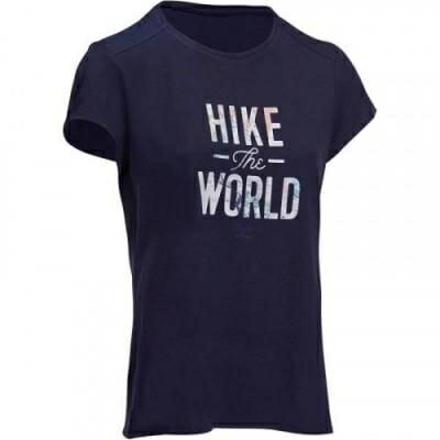 Fitness Mania – NH500 Women's Hiking T-Shirt – Navy