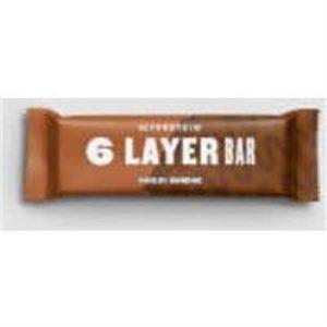 Fitness Mania - 6 Layer Protein Bar  - 12 x 70g - Chocolate Sundae