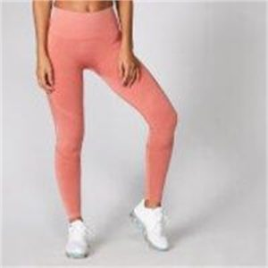 Fitness Mania - Acid Wash Leggings - Copper Rose