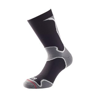 Fitness Mania - 1000 Mile Fusion Mens Sports Socks - Black/Grey