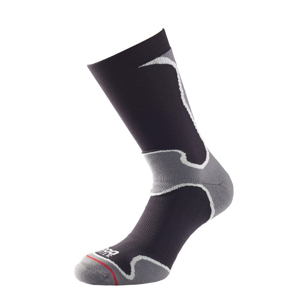 Fitness Mania – 1000 Mile Fusion Mens Sports Socks – Black/Grey