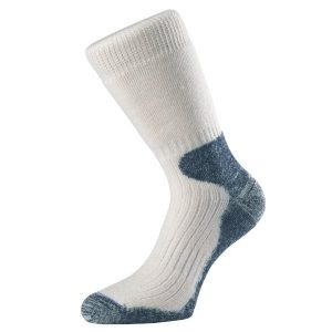 Fitness Mania - 1000 Mile Heavyweight Merino Mens Cricket Socks - White