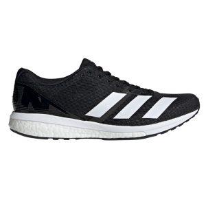 Fitness Mania - Adidas Adizero Boston 8 - Mens Running Shoes - Core Black/Footwear White/Grey