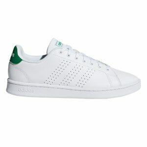 Fitness Mania - Adidas Advantage - Mens Sneakers - Footwear White/Green