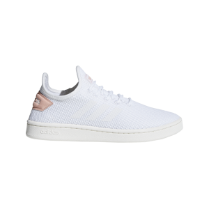 Fitness Mania - Adidas Court Adapt - Womens Sneakers - Footwear White/Dusk Pink