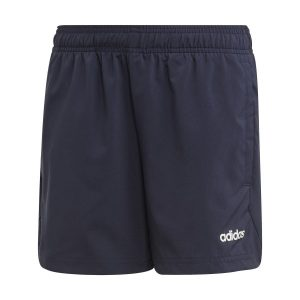 Fitness Mania - Adidas Essentials Plain Chelsea Kids Boys Shorts - Legend Ink