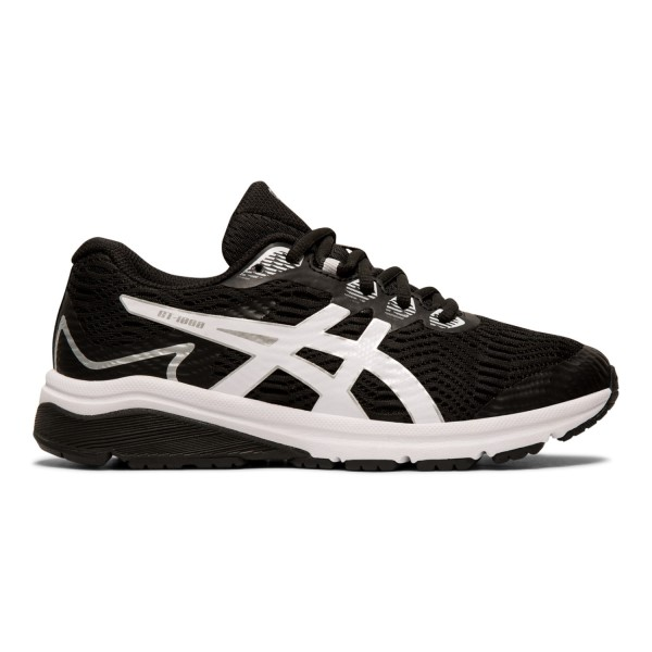 Fitness Mania – Asics GT-1000 8 GS – Kids Running Shoes – Black/White