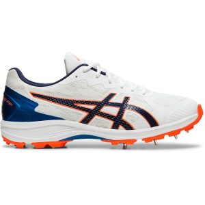Fitness Mania - Asics Strike Rate FF - Mens Cricket Shoes - White/Blue Expanse