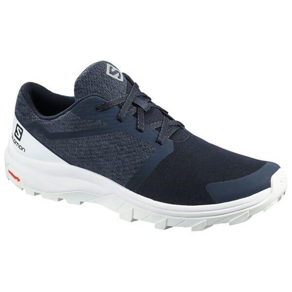 Fitness Mania – Salomon Outbound – Mens Trail Hiking Shoes – Navy Blazer/White
