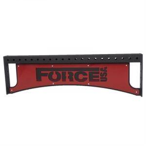 Fitness Mania - 4FT Cross Bar - Lasercut Force USA Logo