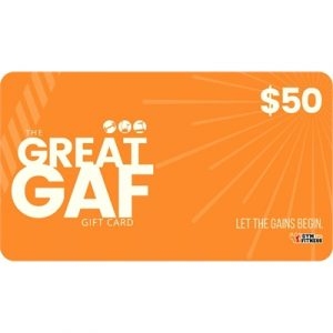 Fitness Mania - $50 GAF Gift Card