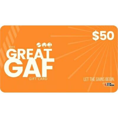 Fitness Mania – $50 GAF Gift Card