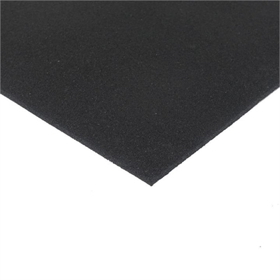 Fitness Mania – Economy Rubber Gym Tile – 1m x 1m x 8mm – no bevelled edge(black)