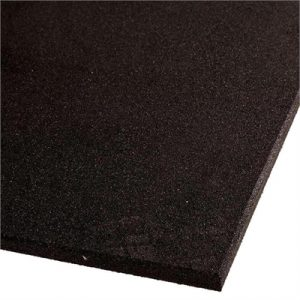 Fitness Mania - VersaFit Commercial Rubber Flooring Tile - Black