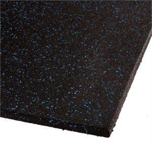 Fitness Mania - VersaFit Commercial Rubber Flooring Tile - Blue Fleck