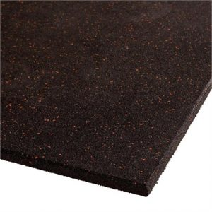 Fitness Mania - VersaFit Commercial Rubber Flooring Tile - Red Fleck