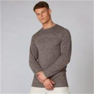 Fitness Mania - Aero Knit Long-Sleeve T-Shirt - Driftwood Marl  - XL