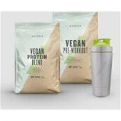 Fitness Mania – Vegan Performance Bundle – Lemon Tea – Strawberry