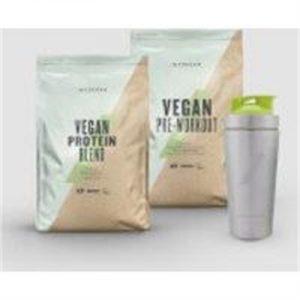 Fitness Mania - Vegan Performance Bundle - Sour Apple - Unflavoured