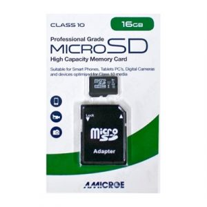 Fitness Mania - 16GB MICRO SD Card