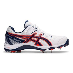 Fitness Mania - Asics Gel Gully 5 - Mens Cricket Shoes - White/Blue Expanse
