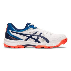 Fitness Mania - Asics Gel Peake 5 - Mens Cricket Shoes - White/Blue Expanse