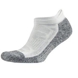 Fitness Mania - Balega Blister Resist No Show Running Socks - White