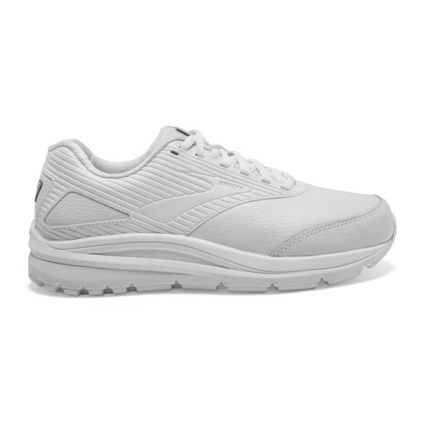 Fitness Mania – Brooks Addiction Walker 2 Leather – Womens Walking Shoes – White