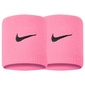 Fitness Mania - Nike Swoosh Wristbands - Pink Gaze/Oil Grey