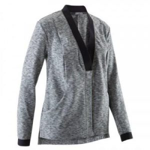 Fitness Mania - Yoga+ Women's Jacket - Black/Mottled Grey