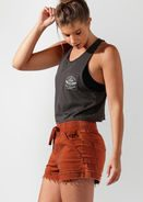 Fitness Mania - Lived In Cropped Tank