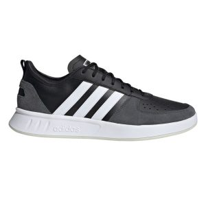 Fitness Mania - Adidas Court 80s - Mens Sneakers - Core Black/Cloud White/Grey Six