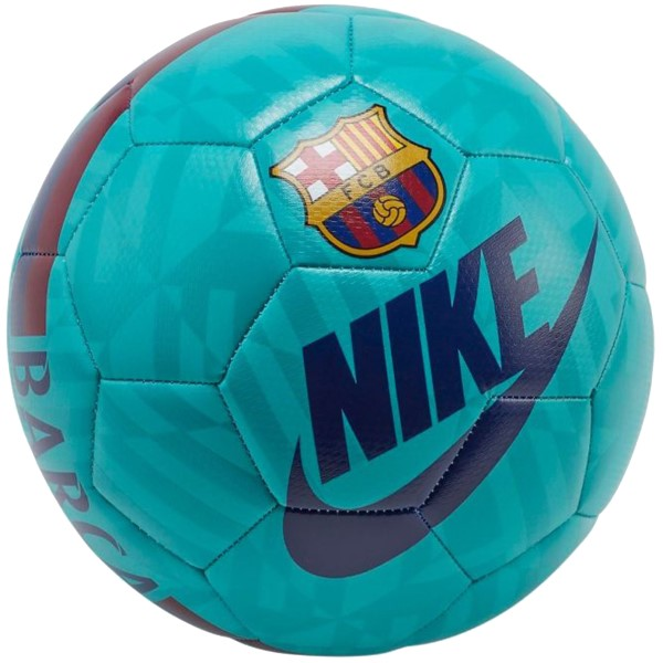 Fitness Mania – Nike Barcelona Prestige Soccer Ball – Size 5 – Cabana/Deep Royal/Noble Red