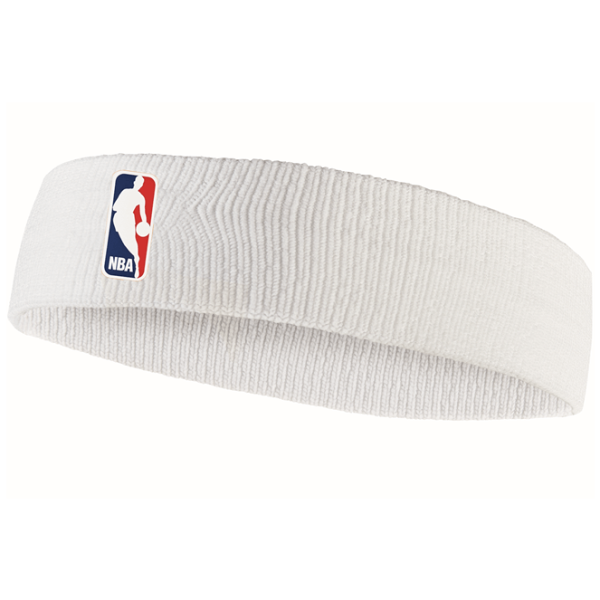 Fitness Mania – Nike NBA Official On Court Basketball Headband – White