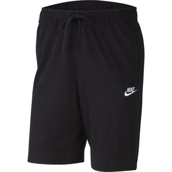 Fitness Mania – Nike Sportswear Jersey Club Mens Shorts – Black/White