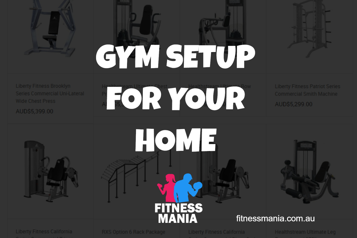 Fitness Mania - GYM SETUP FOR YOUR HOME