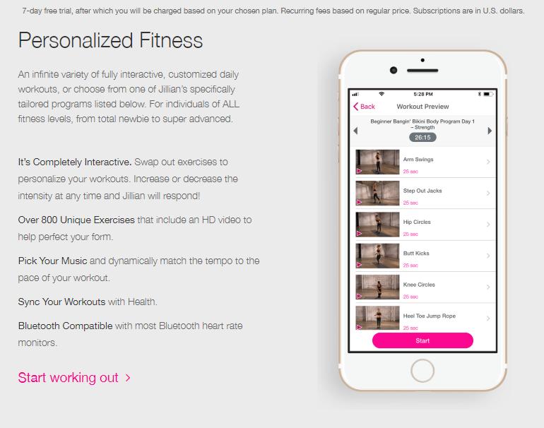 Fitness Mania - Jillian Michaels Fitness App