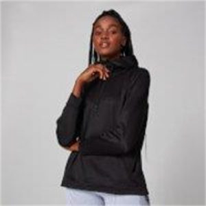 Fitness Mania - Tech Pull Over Hoodie - Black