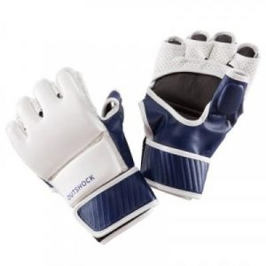 Fitness Mania - 100 Combat gloves - White/Blue
